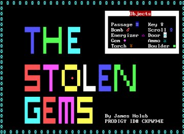 The Stolen Gems screenshot